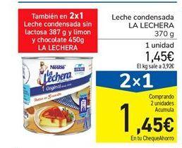 Oferta de Leche condensada La Lechera por 1.45€