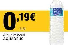 Oferta de Agua por 0,19€