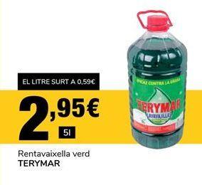 Oferta de Detergente lavavajillas Terymar por 2,95€