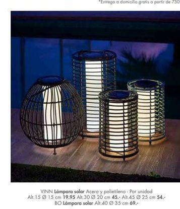 Oferta de Lámpara solar por 19,95€