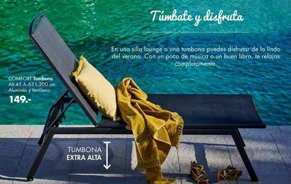 Oferta de Tumbonas por 149€