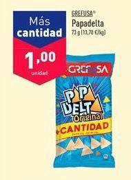 Oferta de Snacks Grefusa por 1€