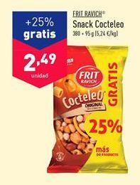 Oferta de Snacks Frit Ravich por 2.49€