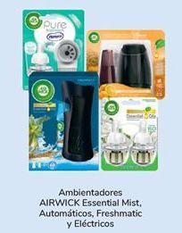 Oferta de En todos los Ambientadores AIRWICK Essential Mist, Automáticos, Freshmatic y Eléctricos por