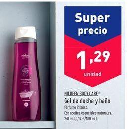 Oferta de Gel de baño mildeen por 1.29€