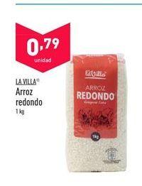 Oferta de Arroz redondo La Villa por 0,79€