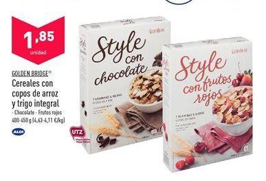 Oferta de Cereales integrales por 1,85€