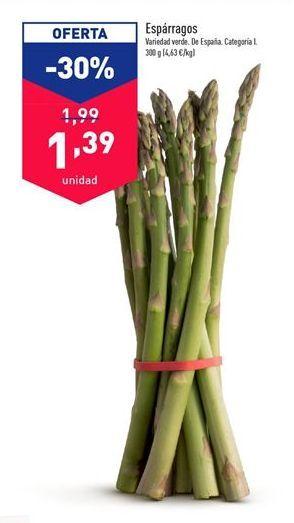 Oferta de Espárragos por 1,99€