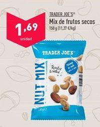 Oferta de Frutos secos trader joe´s por 1,69€