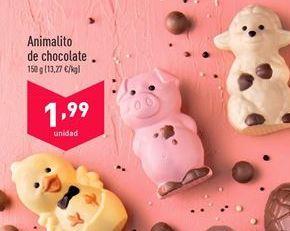 Oferta de Chocolate aldi por 1,99€