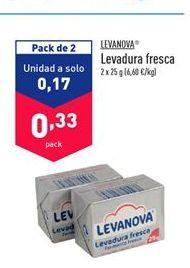 Oferta de Levadura Levanova por 0.33€
