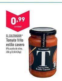 Oferta de Tomate frito El Cultivador por 0,99€