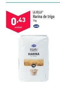 Oferta de Harina de trigo La Villa por 0,43€