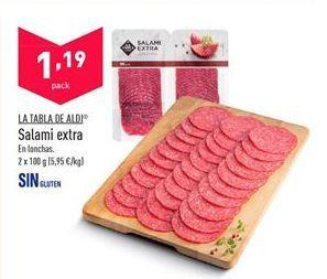 Oferta de Salami aldi por 1,19€