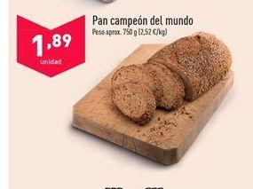 Oferta de Pan por 1,89€
