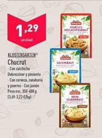 Oferta de Chucrut por 1,29€