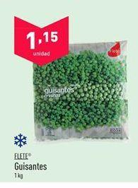 Oferta de Guisantes flete por 1,15€