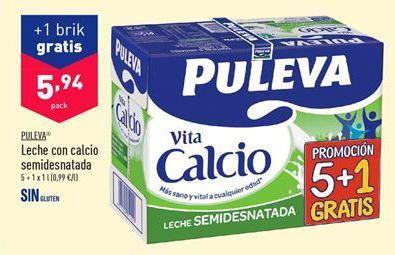 Oferta de Leche con calcio Puleva por 5,94€