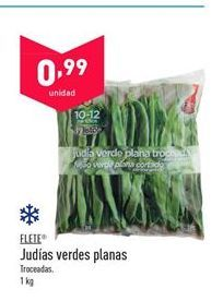 Oferta de Judías verdes flete por 0,99€