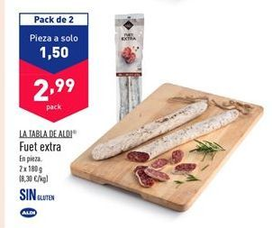 Oferta de Fuet aldi por 2,99€