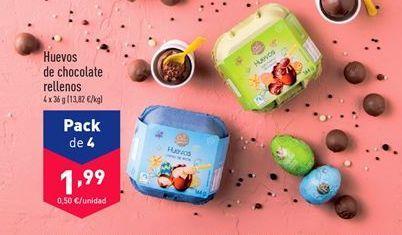 Oferta de Chocolate relleno aldi por 1,99€