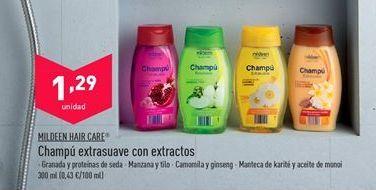 Oferta de Champú mildeen por 1,29€