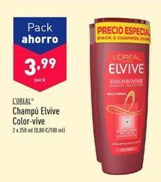 Oferta de Champú L'Oréal por 3,99€