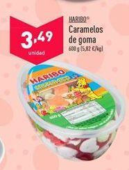 Oferta de Caramelos de goma Haribo por 3,49€