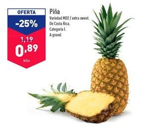 Oferta de Piña por 1.19€