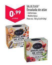Oferta de Ensalada de atún Sal de Plata  por 0,99€