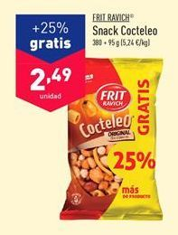 Oferta de Snacks Frit Ravich por 2,49€