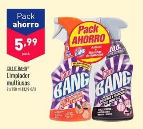 Oferta de Limpiadores Cillit Bang por 5,99€