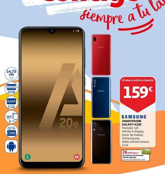 Oferta de Smartphones Samsung por 159€