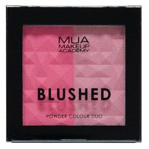 Oferta de MUA Paleta de Coloretes Blushed Duo por 1€