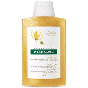 Oferta de Klorane Soin Soleil Champú Nutritivo a la Cera Yiang-Yiang por 6,95€