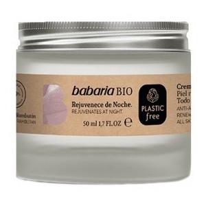 Oferta de Babaria Bio Crema Hidratante Rejuvenece de Noche por 7,5€