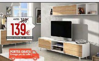 Oferta de Muebles de salón por 139€