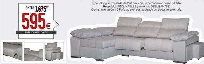 Oferta de Chaise longue por 595€