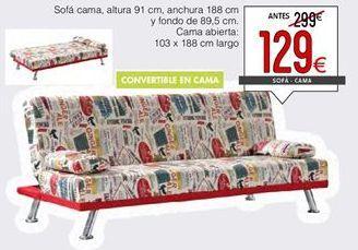 Oferta de Sofá cama por 129€