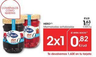 Oferta de Mermelada Hero por 1,63€