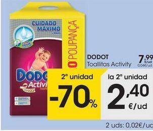 Oferta de Toallitas Dodot por 7,99€