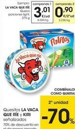 Oferta de Queso La vaca que ríe por 3,01€