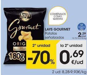 Oferta de Patatas lays por 2,29€