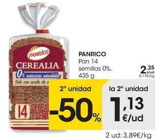 Oferta de Pan Panrico por 2,25€