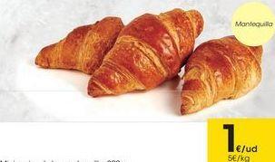 Oferta de Croissants por 1€