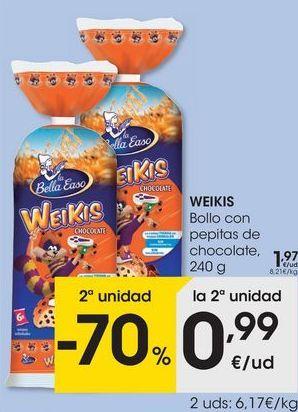 Oferta de Bollos Weikis por 1,97€