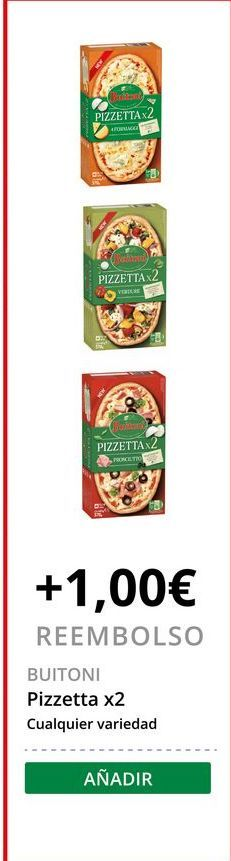Oferta de Pizza Buitoni por