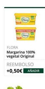 Oferta de Margarina vegetal Flora por
