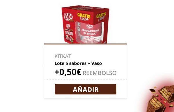 Oferta de Chocolate Kit Kat por