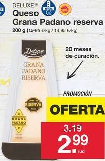 Oferta de Queso reserva Deluxe por 2,99€